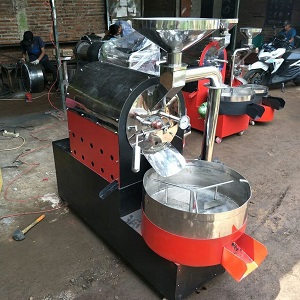Mesin Roasting kopi Malang Rob-Han Coffee Roaster small