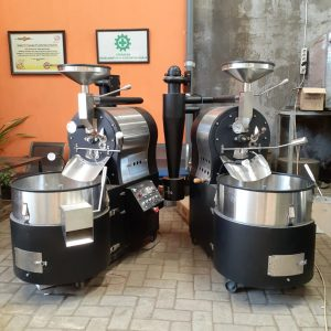 mesin roasting kopi malang robhan coffee roaster